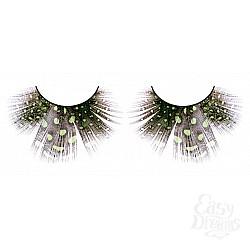 Baci Lingerie Ресницы светло-зелёные  перья