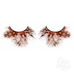 Baci Lingerie Ресницы жёлто-коричневые  перья