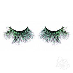 Baci Lingerie Ресницы тёмно-зеленые  перья