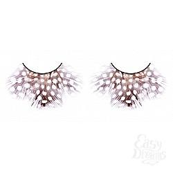Baci Lingerie Ресницы тёмно-фиолетовые  перья
