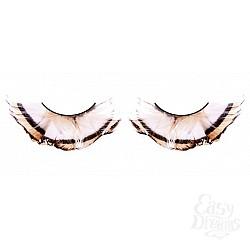 Baci Lingerie Ресницы бежево-коричневые  перья