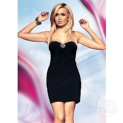 Черное эротичное платье