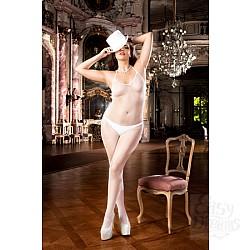 Baci Lingerie White Collection Angel Чулок на тело Q (50-52), белый