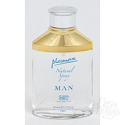 HOT Production Спрей для мужчин с феромонами Сумерки 50мл 55002