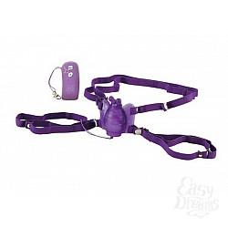 Фиолетовая вибробабочка Remote Waterproof Venus Butterfly на радиоуправлении
