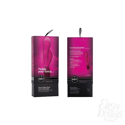 Фотография 3  Вибромассажер Хай-Тек CERES RABBIT розовый
