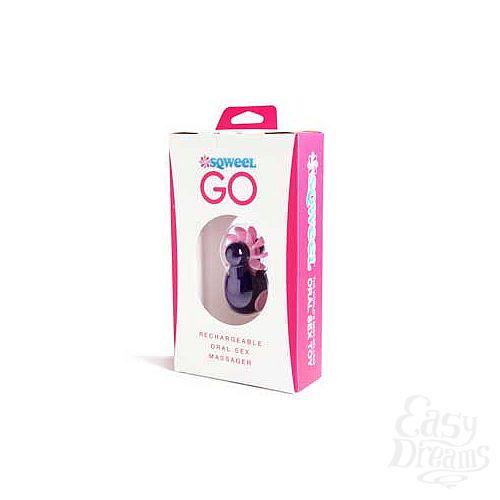 Фотография 4  Фиолетовый клиторальный вибростимулятор Sqweel Go Purple