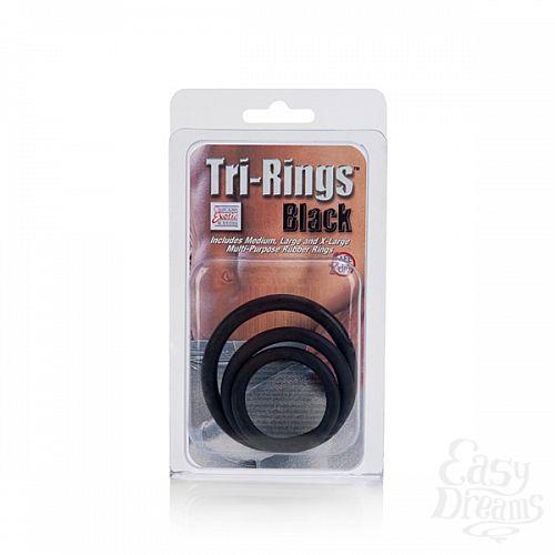Фотография 3 California Exotic Novelties Набор эрекционных колец Tri-Ring