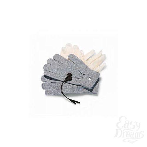 Фотография 1:  Перчатки для чувственного электромассажа Magic Gloves