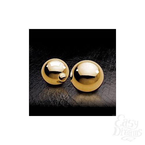 Фотография 1:  Вагинальные шарики Fetish Fantasy Gold Ben-Wa Balls золотые