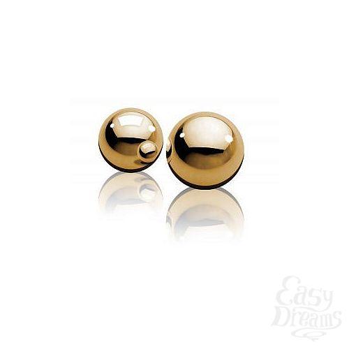 Фотография 2  Вагинальные шарики Fetish Fantasy Gold Ben-Wa Balls золотые