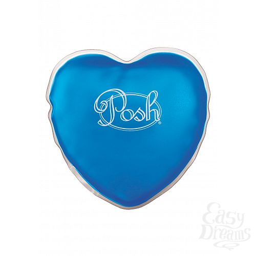 Фотография 1: California Exotic Novelties, Америка Теплый массажер Posh Warm Heart Massagers blue 2094-20BXSE