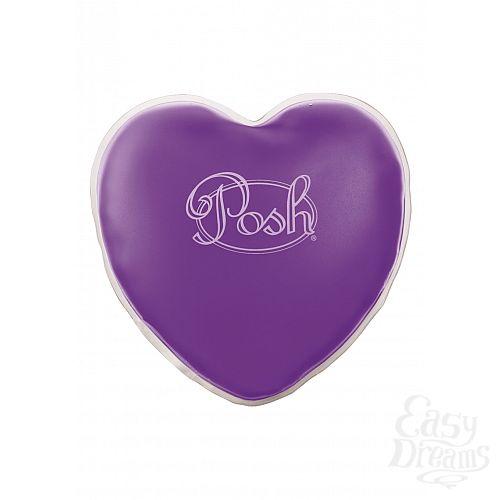 Фотография 1: California Exotic Novelties, Америка Теплый массажер Posh Warm Heart Massagers Purple 2094-40BXSE