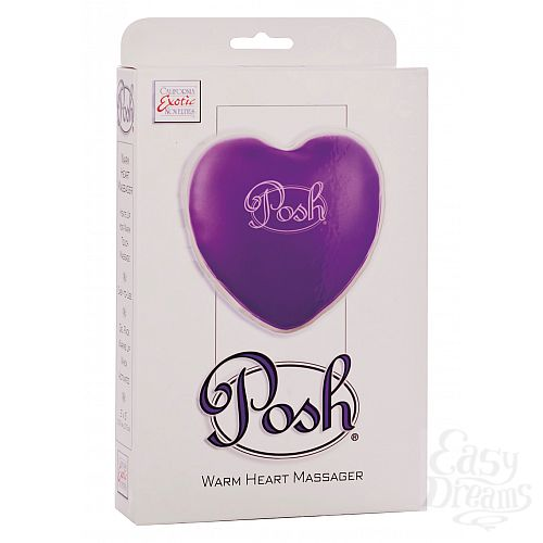 Фотография 2 California Exotic Novelties, Америка Теплый массажер Posh Warm Heart Massagers Purple 2094-40BXSE