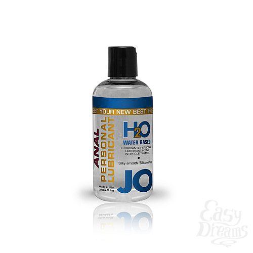 Фотография 1: SYSTEM JO, США Анальный лубрикант на водной основе JO Anal H2O, 8 oz (240 мл)