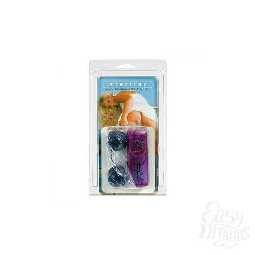 Фотография 2  Фиолетовые шарики с вибрацией JELLY LAVENDER