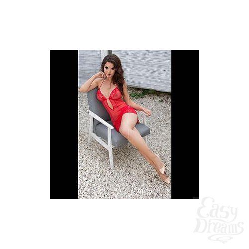 Фотография 6  Откровенная сорочка  Лариса  в комплекте с трусиками-стринг