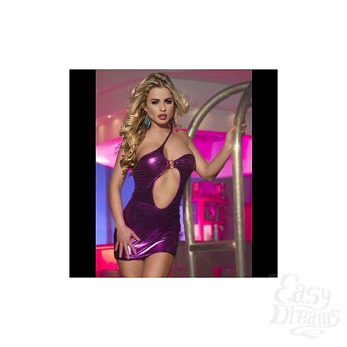 Фотография 2  Клубное платье с асимметричным вырезом