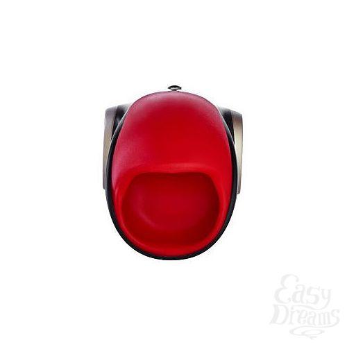 Фотография 4  Чёрно-красный вибромастурбатор Cobra Libre 2