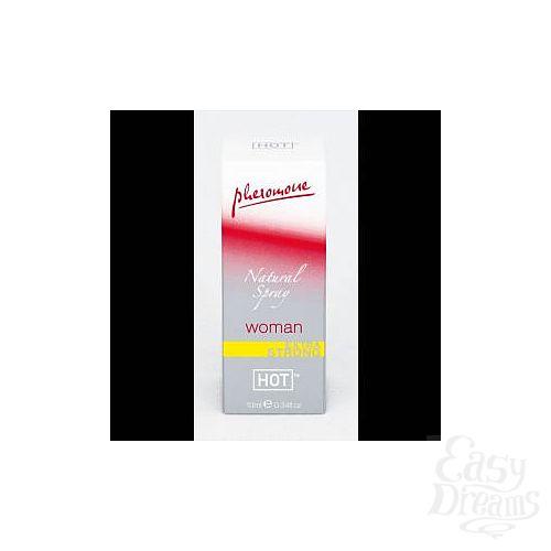Фотография 1:  Спрей с феромонами Natural Spray Extra Strong для женщин - 10 мл.