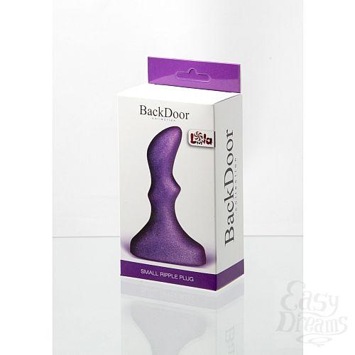 Фотография 2 LOLA TOYS Анальный стимулятор Small ripple plug purple 510160lola