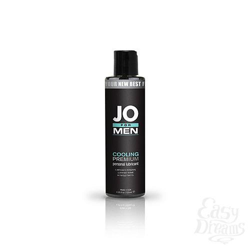 Фотография 1: SYSTEM JO, США Мужской охлаждающий силиконовый лубрикант JO for Men Premium Cooling
