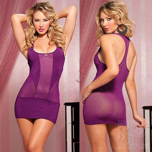 Фотография 4  Короткое полупрозрачное платье