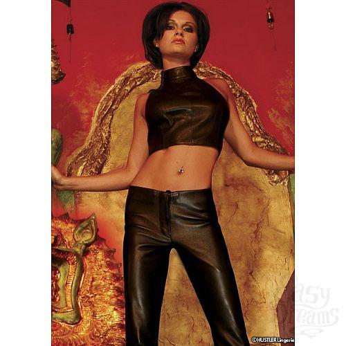 Фотография 1:  Кожаный топ-американка Dynasty