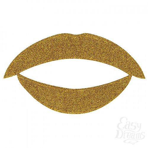 Фотография 2  Lip Tattoo Золотой блеск