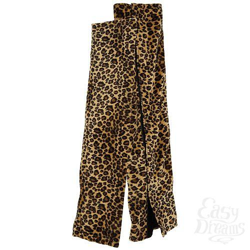 Фотография 2  Леопардовые чехлы для эротических качелей