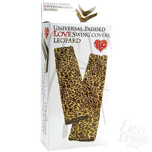 Фотография 3  Леопардовые чехлы для эротических качелей