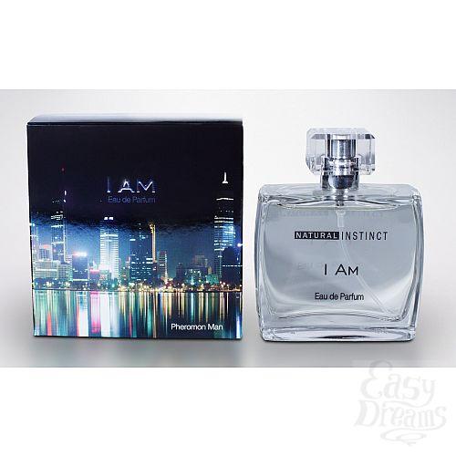 Фотография 1:  Мужская парфюмерная вода с феромонами Natural Instinct I Am - 100 мл.