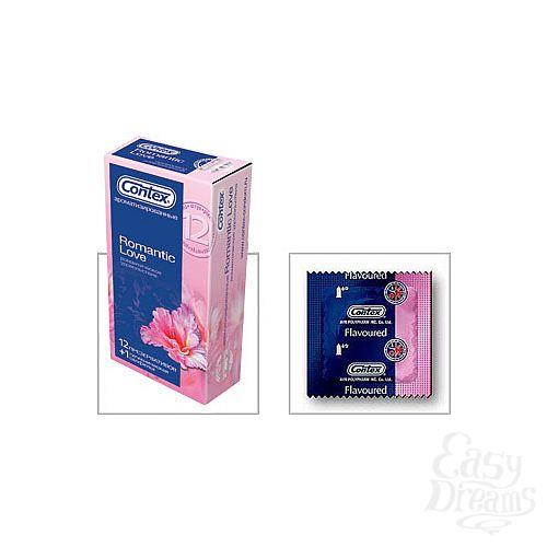 Фотография 1:  Презервативы CONTEX Romantic, 12 шт.