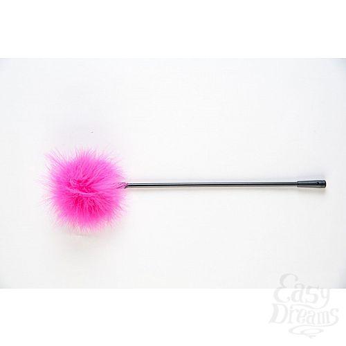 Фотография 1:  Щекоталка с розовым пушком на кончике