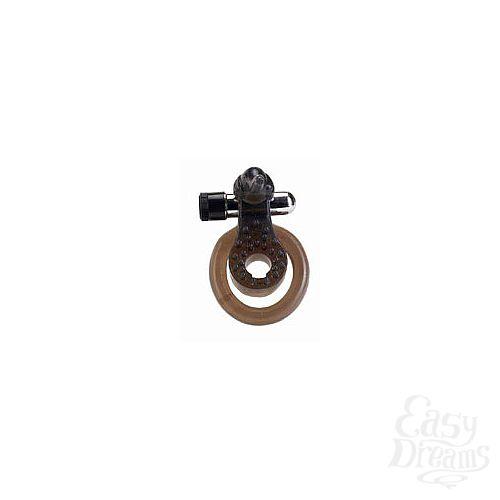 Фотография 1:  Эрекционное кольцо с вибратором *Слоник*