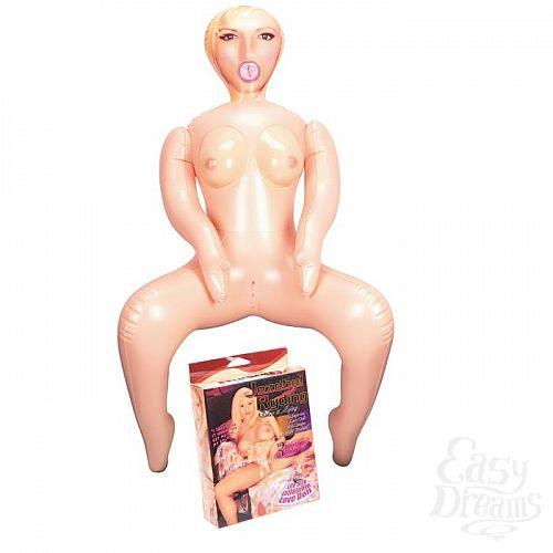 Фотография 1:  Надувная секс-кукла в позе наездницы Jezebel Ryding