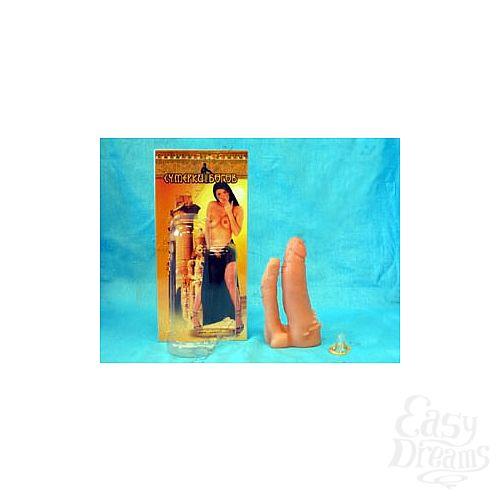 Фотография 1:  Насадка  11 на страпон Харнесс анально-вагинальная
