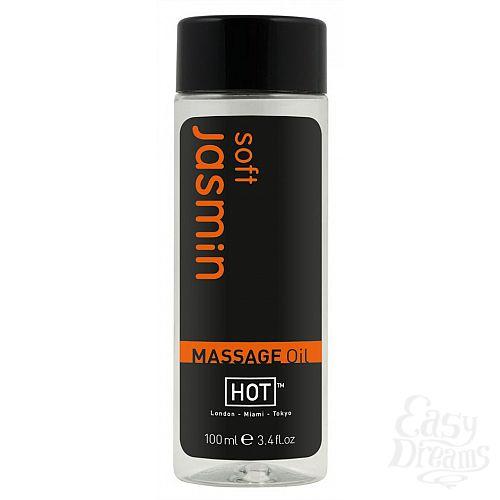 Фотография 1: HOT Production Массажное масло для тела Жасмин 100 ml 44084