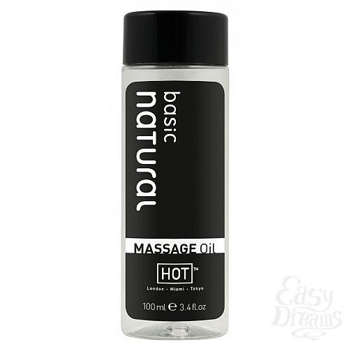 Фотография 1: HOT Production Массажное масло для тела Натюрель 100 ml 44085
