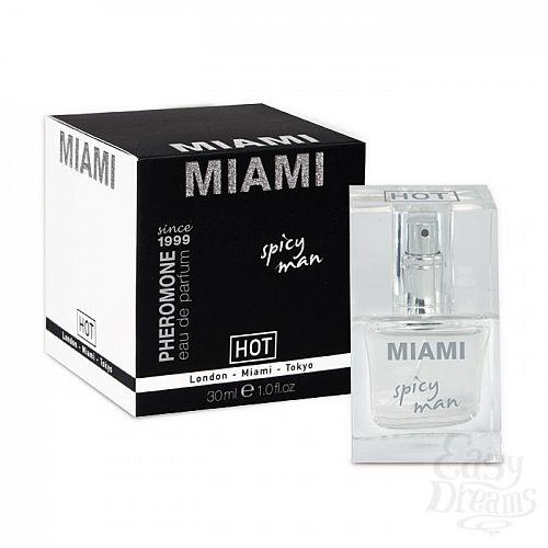 Фотография 1:  Мужские духи с феромонами Miami Spisy Man - 30 мл.
