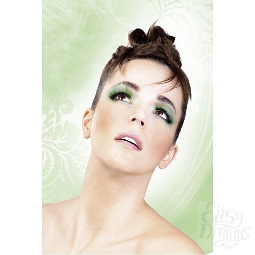 Фотография 2  Зеленые пушистые ресницы