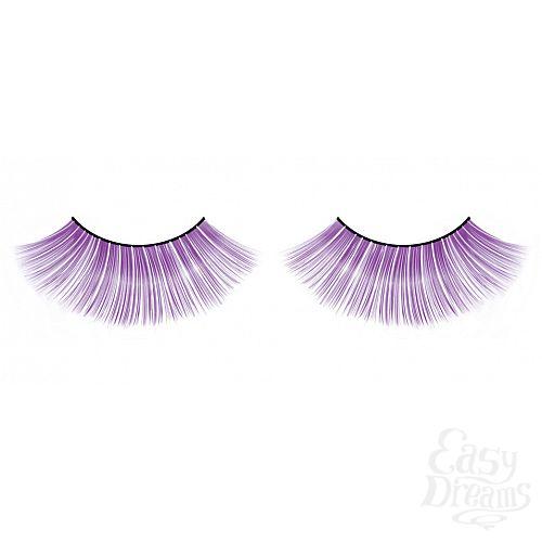 Фотография 1:  Длинные фиолетовые ресницы Deluxe