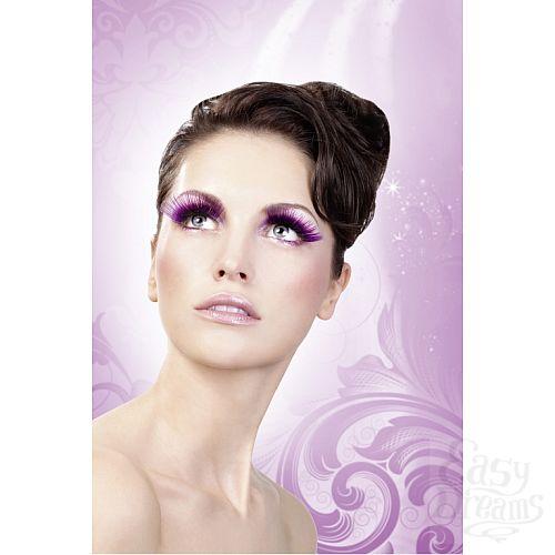 Фотография 2  Длинные фиолетовые ресницы Deluxe