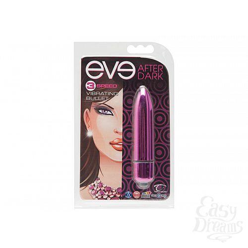 Фотография 2 Topco Sales Стильный мини-вибратор Eve After Dark Vibrating Bullet, Фиолетовый