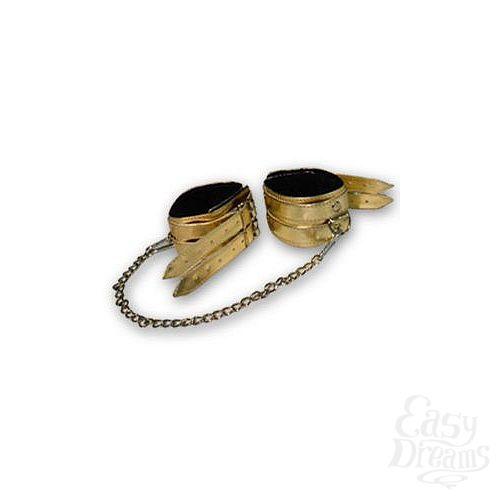 Фотография 1:  Золотистые оковы с мехом