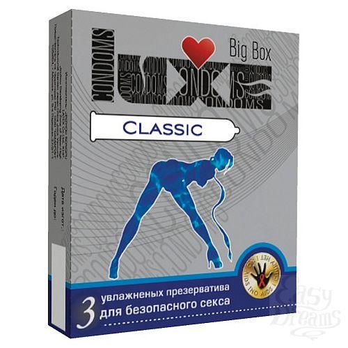 Фотография 1:  Презервативы LUXE Classic - 3 шт.