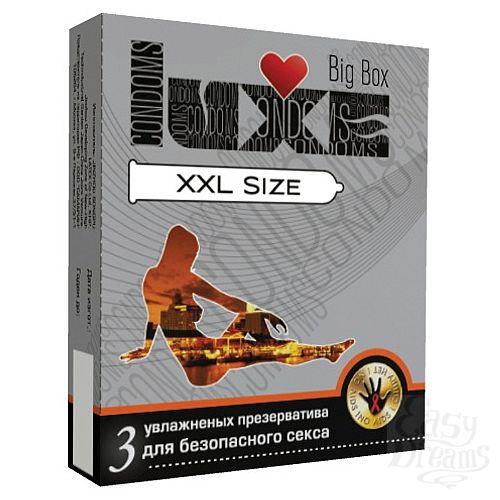 Фотография 1:  Презервативы большого Размера LUXE XXL size - 3 шт.