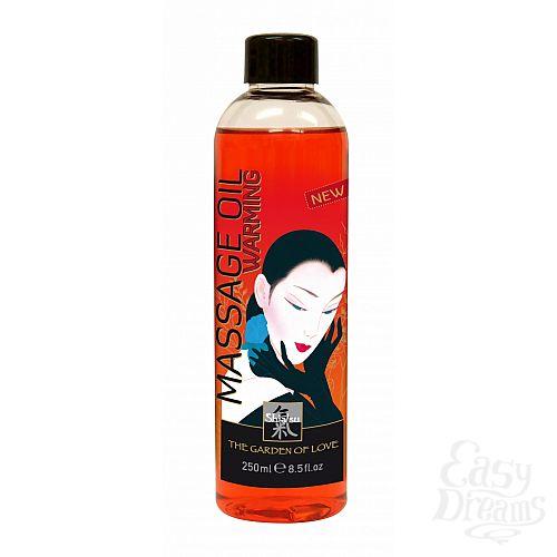 Фотография 1: SHIATSU Разогревающее массажное масло SHIATSU  250ml 66006
