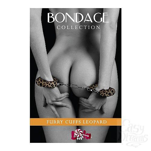 Фотография 1: LOLA TOYS Наручники с мехом BONDAGE леопардовые 1010-04lola