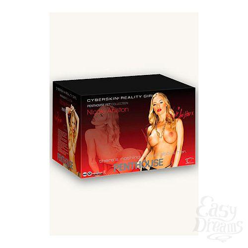 Фотография 1: Topco Sales Кукла цельнолитая Penthouse® Nicole Aniston телесная с вибрацией